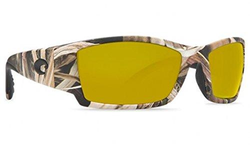 Costa Del Mar Corbina Sunglasses, Mossy Oak Shadow Grass Blades Camo, Sunrise 580Plastic - Corbina Costa