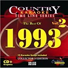 Chartbuster The Best of 1993 Country Karaoke Time Line Series CB80155