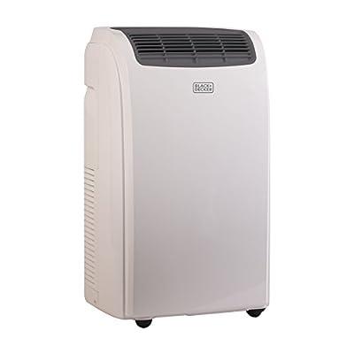 BLACK+DECKER BPACT08WT 8,000 BTU (Ashrae 128) 5,000 BTU (2017 DOE Testing Standard) Portable Air Conditioner with Remote Control