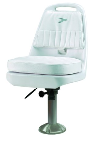 Wise 8WD013-7-710 Standard Pilot Chair with Adjustable Height Pedestal and Seat Mount
