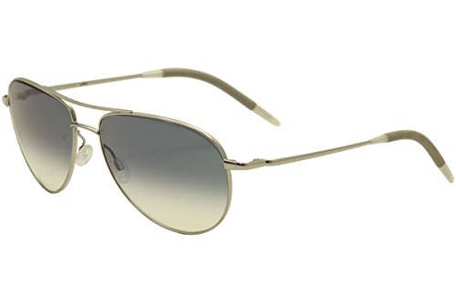 Oliver Peoples Eyewear Men's Benedict Sunglasses, Blue Mirror, One - Benedict Peoples Oliver