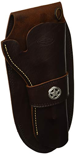 Hunter 1082C-50 Western Single Loop Holster with Concho, Size 50, - Buscadero Hunter Belts