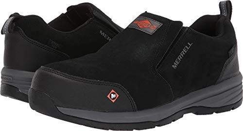 Merrell Work Men's Windoc Moc Steel Toe Black 7.5 M ()