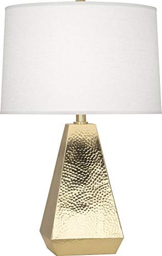 Robert Abbey Dal Modern Brass Tapered Table Lamp ()