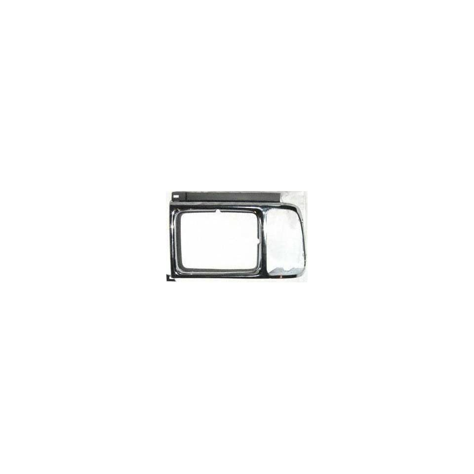 89 91 FORD AEROSTAR HEADLIGHT DOOR LH (DRIVER SIDE) VAN, Chrome (1989 89 1990 90 1991 91) 7974 E99Z13064D