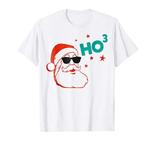 Santa HO HO HO HO3 Shirt Funny Santa