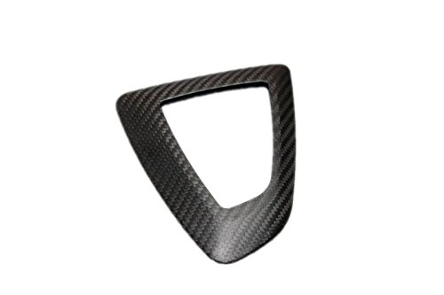 Eppar® New Carbon Fiber Shift Knob Under Seat Cover (Right Hand Drive) for BMW 2 Series F22 2013-2015 218i 220i 228i M235i Right Hand Drive Bmw