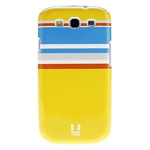 CECT STOCK Stripe Pattern Design Fresh Caso duro de alta calidad para Galaxy S3 I9300