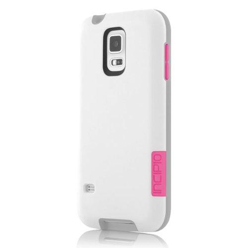amazon com incipio phenom case for samsung galaxy s5 retailamazon com incipio phenom case for samsung galaxy s5 retail packaging white pink cell phones \u0026 accessories