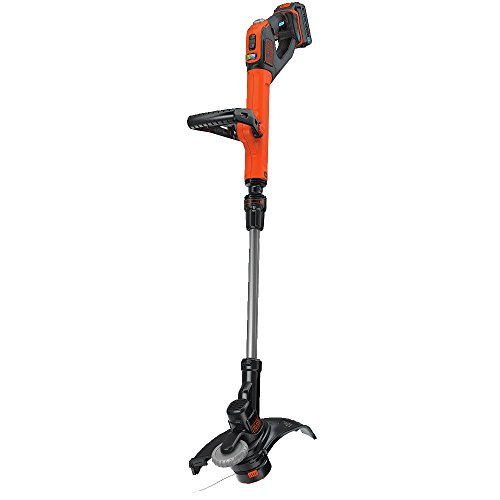 BLACK+DECKER LSTE525BT 20V Smartech Max Easy Feed String Trimmer