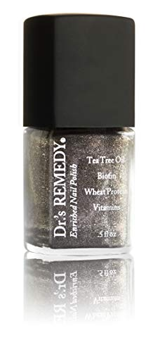 Dr.'s REMEDY Enriched Nail Polish, MAGNETIC Midnight, 0.5 Fluid Ounce ()