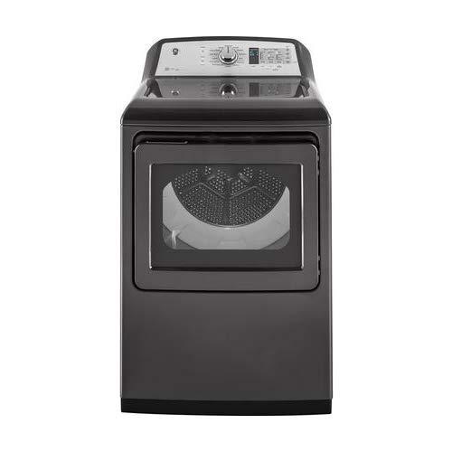 GE GTD75GCPLDG 27″ Inch Smart Gas Dryer with 7.4 cu. ft. Capacity, in Gray