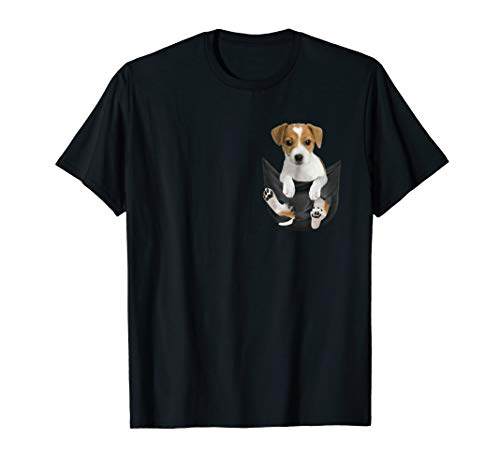Jack Russell In Pocket hot trend shirt for sale  Delivered anywhere in USA