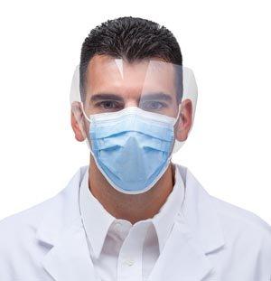 Sultan Com-Fit Super High Filtration Fluid Resistant Ear Loop Mask Masks, Face Shield, Blue 20328