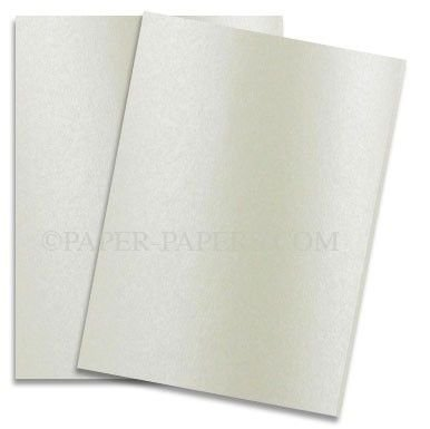 Shimmer Champagne 8-1/2-x-11 Lightweight Multi-use Paper 1000-pk - 118 GSM (32/80lb Text) PaperPapers Letter Size Everyday Paper - Professionals, Designers, Crafters and DIY Projects by Paper Papers