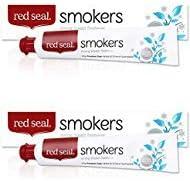 Red Seal Paraben libre pasta de dientes, pasta dental de hierbas y minerales 2-Pack fumadores: Amazon.es: Salud y cuidado personal
