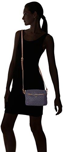 Joop Damen Nylon Cornflower Manu Shoulderbag Shz Schultertasche, 4x15x22 cm Grau (Grey)