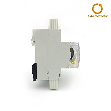 Circutor rec3 - Interruptor diferencial autorrearmable rec3-2p-40-30m: Amazon.es: Bricolaje y herramientas