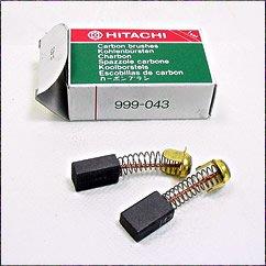 Hitachi 999-043 Power Tool Motor Brush Set Genuine Original Equipment Manufacturer (OEM) Part