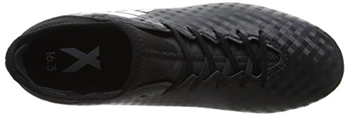 adidas X 16.3 Fg, Botas de Fútbol Unisex Niños Negro (Core Black / Ftwr White / Core Black)