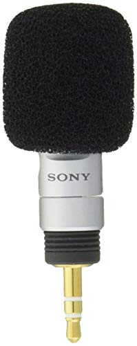 Sony Electret Condenser Business Microphone | ECM-DS30P (Japanese Import)