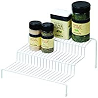 Real Home Three Tier Spice Rack (White)