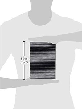 Original Mann Filter Innenraumfilter Cuk 2945 Pollenfilter Mit Aktivkohle Für Pkw Auto