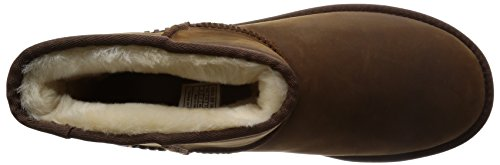 Leather Boot UGG Mini Winter Deco Men's Classic Chestnut xAqw08FZvw