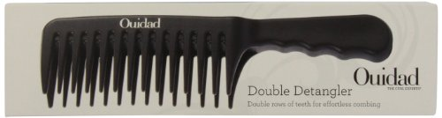 Ouidad Double Detangler Comb 1 Ea, 1 Count by Ouidad