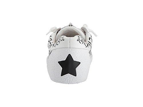 Ash Women's AS-Nova Sneaker, White/Black, 39 M EU (9 US)
