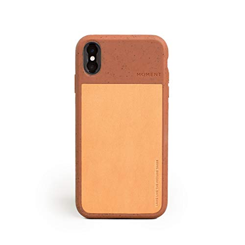 iPhone Xs Max Case || Moment Photo Case in Terra Cotta - Thin, Protective, Wrist Strap Friendly case for Camera Lovers.