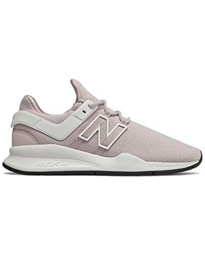 New Balance Women's 247v2 Sneaker, Light Cashmere/White, 9.5 B US