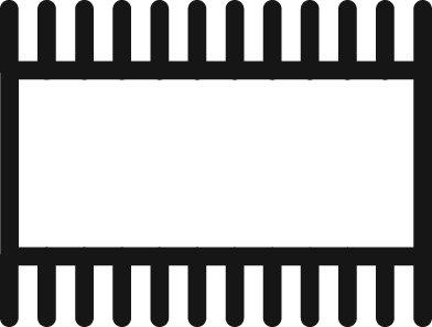 Grobet Swiss Pattern File Pillar Narrow 6 Inch Cut 00