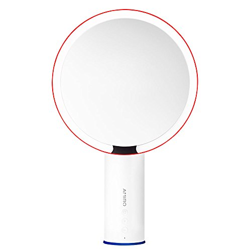 Amiro 8 inch Smart Lighted Vanity Makeup Mirror with Brightness Control and Motion - Motion Mirror
