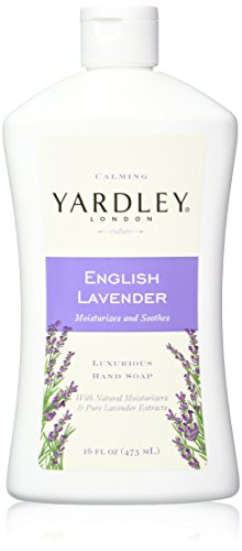 Yardley London English Lavender Liquid Hand Soap Refill, 16 Ounce
