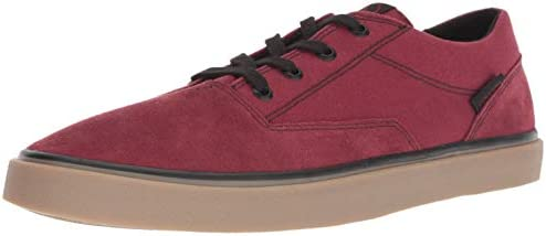 Volcom Men s Draw Lo Suede Fashion Skate Shoe