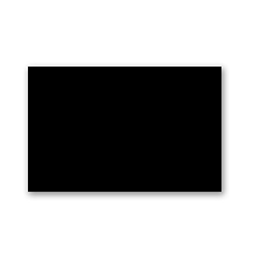 Colored Paper - 48 Pieces - Black - 8.5