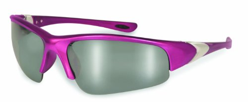 Specialized Safety Products ENTIAT 1.5 HPK M 95165 Unisex 1.5 Bifocal/Reader Safety Glasses with Hot Pink Frames and Silver Mirror - Bifocal Glasses Safety Women's