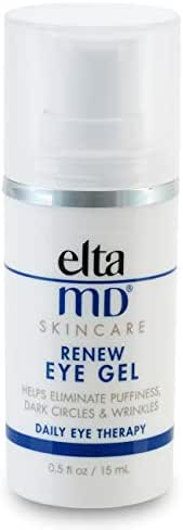 EltaMD Renew Eye Gel for Dark Circles, Fine Lines Around Eyes, Clinically-Proven Eye Cream, Oil-free, 0.5 oz