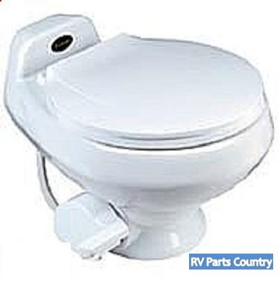 Amazon.com: Dometic RV Toilet -Sealand Traveler 510HS- White With ...