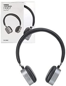 Miniso Silver Wireless Headphone Black Bluetooth Headset H007 Silver Amazon Ca Electronics