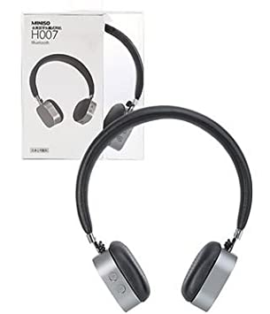 87a8a38046a Miniso GREY Wireless Headphone Black Bluetooth Headset H007 (Grey):  Amazon.ca: Electronics