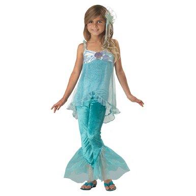 Child Mischievous Mermaid Costume (Child Mischievous Mermaid Costume (Large Size 10/Blue))