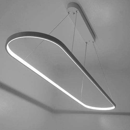 Mogicry Simple Moderna Cabeza Sola Luz Colgante Personalidad Estufa Barniz Arte Creativo Postmoderna Lámpara LED Cocina...