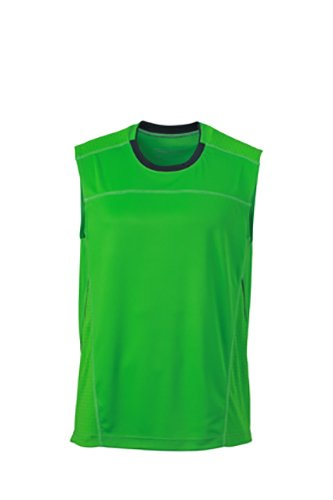 Débardeur iron 2store24 Respirant Green Homme Running grey d7XvAXr