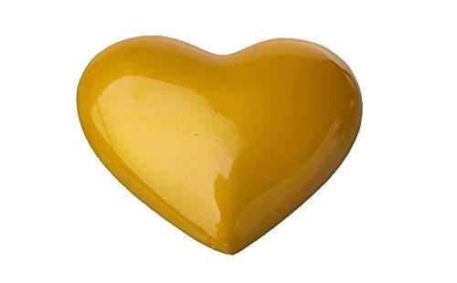 ICEMPs Cosplay Accessory Sailor Venus Aino Minako Yellow Heart Shaped Brooch