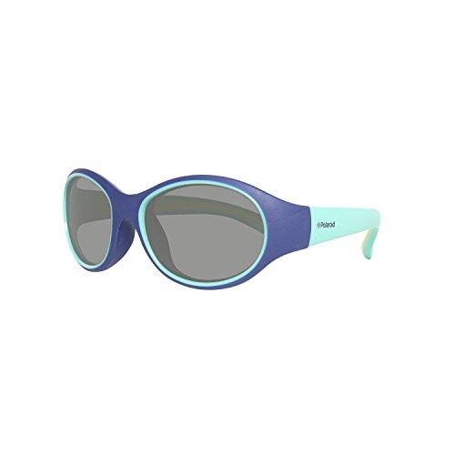 8002 Sole s Rotondi Bambini Polaroid celeste Blu Da Pld Occhiali XxqEwSHI