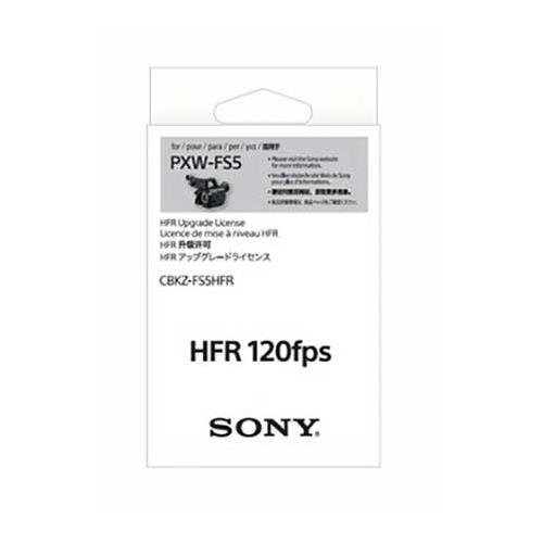 Sony HD 120fps High Frame Rate (HFR) Upgrade License for PXW-FS5 Camera System by Sony