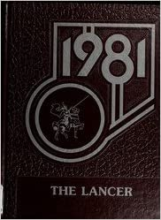 Custom Reprint Yearbook 1981 Lincolnview High School Lancer