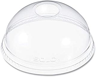 product image for DART DLR626PK Ultra Clear Dome Cold Cup Lids f/16-24 oz Cups, PET, 100/Pack